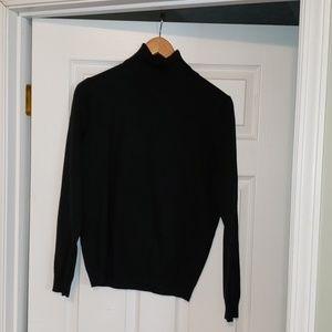 Merona black turtleneck thin sweater